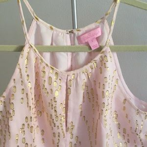 Lilly Pulitzer Tops - Lily Pulitzer baby pink top